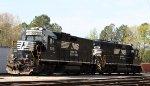NS 708 & 3012 sit in Glenwood Yard