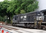 NS 2802 leads train E2T at Southern Junction on a Resticted Signal