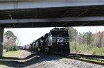 NS 8087 will lead train 349