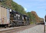 NS 708 & 3012 lead train P54 eastbound