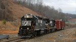 NS 5053 leads train P59 back to Canton