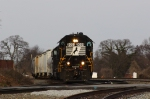 NS 5031 leads train P61 westbound late in the afternoon