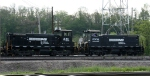 NS 2211 & 2306 work the yard