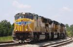 UP 4730 leads train 166 into Oyama Yard