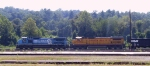 NS 8389 & UP 9058 lead a coal train eastbound