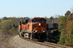 BNSF 6041 leads train 162 eastbound