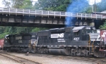 NS 3536 & 4607 switch the yard
