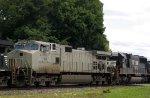 NS 9933 & 2515 head onto the S line