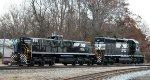 NS 855 & 6198 run the wye