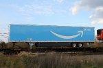 Shiny Amazon trailer on train 20K