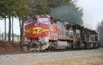 BNSF 931 leads train 213
