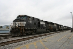 NS 9725 leads a train full of locos @ Pomona Yard