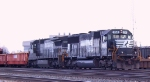 NS 2541 & 8709 are working at Pomona Yard