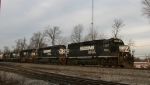 NS 7104 leads train 350 with a 5 unit all-EMD lashup