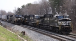 NS 9304 leads train 213 past 218