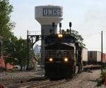 NS 9590 leads train 218