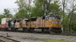 UP 4742 & 5504 lead train 214 northbound