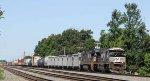 NS 2656 leads train 158 northbound
