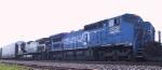 NS 8363 & 8886 lead an intermodal train southbound
