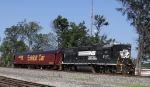 NS 5117 leads train 951