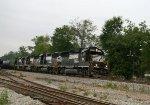 NS 7112 leads a GP50, GP60, and GP38AC on train 350