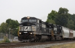 NS 8350 leads train 159 southbound