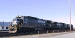 NS 8567 is one of three units in Pomona Yard