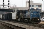 NS 8448 & 2545 lead train 158 northbound