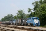 GMTX 2615 leads a colorful lashup of power on NS train 350