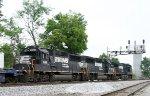 NS 7146 & 7125 train NS 9737 on train 214