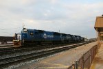 NS 5414 is one of 3 ex-Conrail Quality SD50's from train P84