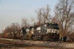 NS 9030 & 9909 lead train 350 at Aycock