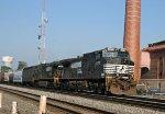NS 9573 & 9483 lead train 158 nortbound