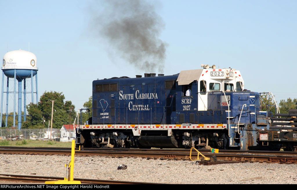 SCRF 2027 works the CSX yard