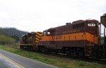 GSMR 1751 & 711 lead a train westbound
