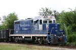 SCRF 2027 leads a train towards the CSX yard