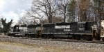 NS 7047 & 7018 back train P92 into the old yard