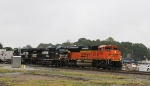 BNSF 9288 leads train 213 southbound