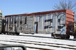 Tagged Steel Ribbed Boxcar