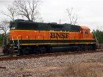 2-3-11 BNSF 2297 GP-38-2 (Former Frisco#448)