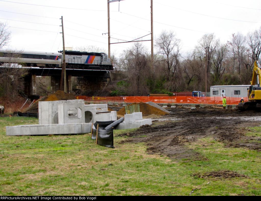 future River LINE-Atlantic City Line station