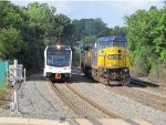 NJT 3513 and CSX 7317