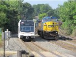NJT 3502 and CSX 7317
