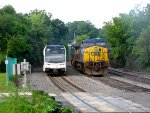 NJT 3519 and CSX 50
