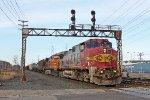 BNSF 619 on CSX Q380-12