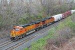 BNSF 4316 on CSX Q393-27