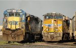 CSX 7548 and UP 7730