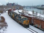CSX 908 Q438 And The Cold Schuylkill