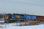 CSX 6248 On The End of B738
