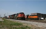 BNSF and CN Race to the Crossing